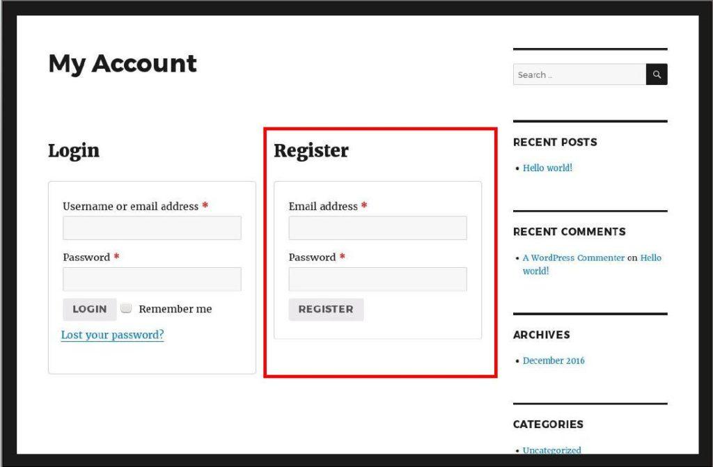 basic-woocommerce-registration-form